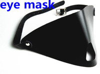 Wholesale Nose Bdsm - BDSM Bondage Gear Sexy Female Eye Masks Blindfold with Nose Hole Adults Products Toys For Her Black WQ-EM0148