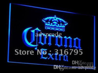 Wholesale Bar Signs Corona - a013-b Corona Extra Beer Bar Pub Cafe Neon Light Signs