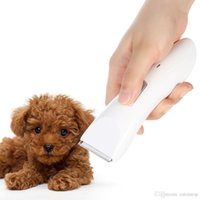 Wholesale Low Noise Cat Hair Clipper - cachorro chien Low Noise Electric Rechargeable Pet Dog Cat Clipper Hair Trimmer Hair Cutter Shaver Hairdressing Grooming Tool H16593
