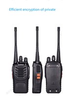 4PCS Walkie Talkie de dos vías de radio Interphone inalámbrico 888 888s baofeng bf-888s con UHF400-470MHz Walk Talk CB de radio Comunicador