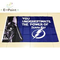 Tampa Bay Lightning National Hockey League (NHL) 3 5ft (90cm 150cm) Polyester  flag Banner American decoration flying home   garden flag 9e9b2eadd