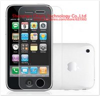 Wholesale Iphone 3g Screen Film - Wholesale-4 x Matte Anti-glare Anti glare Screen Protector Film Guard Cover For Apple iPhone 3GS iPhone 3G
