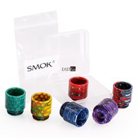 Wholesale Cobra Tank Atomizer - 100% Original SMOK TFV12 Prince Tank Cobra Drip Tip Mouthpiece Snake Skin With Retail Package Fit TFV12 Cloud Beast Prince Atomizer Tanks