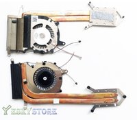 Wholesale Laptop Heatsink Fan - Original Laptop fan with heatsink for Sony vaio Pro 13 SVP132 SVP132A UDQFVSR01DF0
