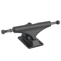 Wholesale Free Skateboard Trucks - Wholesale-2pcs Skateboard Trucks BLACK Skateboard Wheel EC-TB Bearings Metal free shipping