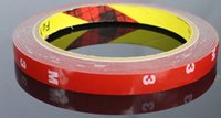 Wholesale Foam Tape Single Sided - Wholesale 8mm 3M Tape Double-sided Adhesive Auto Acrylic Foam Rubber Tape Trim 3roll