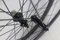 Wholesale Carbone Bike Road - 700c 50mm clincher road carbon wheelset Powerway R36 straight pull carbon hubs front 18 rear 24 holes Racing bike carbone wheels 25mm width