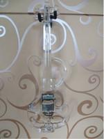 keman ücretsiz toptan satış-Tianyin Marka Patent S Tipi Kristal Elektrik Violi-Yüksek Kalite 4/4 Akrilik Elektrik Keman Ile En Iyi Mavi LED Işık ve Ücretsiz Keman Kılıf
