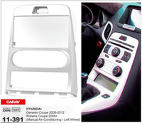 Wholesale Hyundai Genesis Coupe - CARAV 11-391 Top Quality Radio Fascia for HYUNDAI Genesis Coupe 09-12, Rohens Coupe Stereo Fascia Dash CD Trim Installation Kit