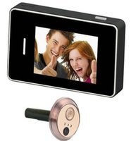 Wholesale Peephole Dvr - Touch Screen Video Camera alarm Door Viewer Peephole Doorbell DVR System