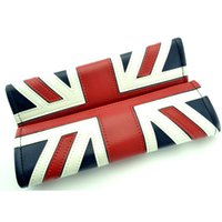Wholesale Pad Jacks - 1 pair Union Jack Logo Carbon Fiber Car Seat Belt Shoulder Pads For MINI COOPER New High Quality