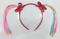 Wholesale new style girls children halloween HAIRBANDS Headwrap hairband Hair bow Ornaments