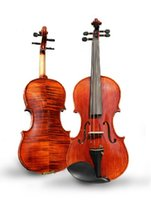 Wholesale Promotion Test - Hot Promotion!Tianyin Brand Violin Instruments 100% Handmade High Quality Adult Grading Test Violin Selected Tiger strips Violin