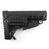 Wholesale M4 Body - AR15 M4 Plastic Stock body. Hi density ABS Plastic Six Position Color Black