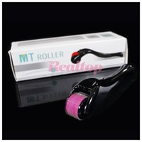 Wholesale MOQ MT micro needle derma roller for skin rejuvenation MT micro needle skin dermaroller