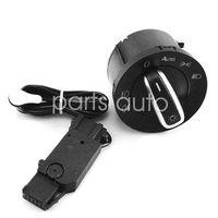Wholesale Jetta Headlight Sensor - Setof Auto Headlight Light Sensor And Switch For VW Golf 5 6 MK5 MK6 Tiguan Passat B6 B7 CC Touran Jetta MK5