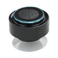 Wholesale Dock Radio - Wholesale-Wireless Bluetooth Shower Speakers Waterproof Subwoofer Speaker Enceinte Bluetooth Portable Mini Loudspeaker Altavoces Handsfree