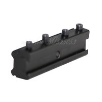 Tactical 11 milímetros Hunting Base de Dovetail a 20mm Adapter Weaver Picatinny Mount