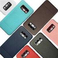 xiaomi tpu davası toptan satış-Anti patinaj mat nokta yumuşak tpu case arka kapak kılıfları için iphone x 5 s 6 7 8 Artı Samsung S5 S6 Kenar S8 Artı Not 8 Xiaomi