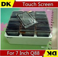 Wholesale Display Screen Q88 - DHL 100PCS Brand New Touch Screen Display Glass Replacement For 7 Inch Q88 A13 A23 Tablet PC