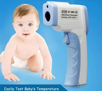 Wholesale DT Non contact LCD Digital Thermometer Infrared Forehead Temperature Gun Laser Multi Body Infrared Thermometer Temperature with retail