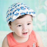 Wholesale Wholesale Infant Baseball Caps - Fashion Baseball Hat Korean Beanie Hat Caps Kids Hats Children Caps 2016 Spring Sun Hat Baby Hat Infant Boys Girls Ball Cap Kids Cap C19910