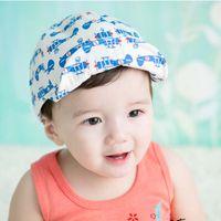 Sombrero de béisbol de la manera Sombreros coreanos del sombrero de la  gorrita tejida Sombreros de los niños Sombreros de los niños Sombrero 2016  del sol de ... 6046866a9bd