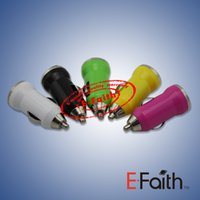 Wholesale Mini USB Car Charger USB Charger Universal Adapter for iphone S Cell Phone PDA MP3 MP4 player mobile i9500