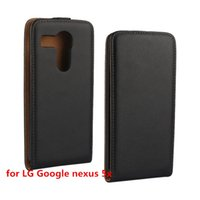 Wholesale Nexus Vertical Case - Newest Arrival Magnet Pull Plain Grain Vertical Flip Leather Up and Down Cover Case for Huawei Ascend Y560   Y 560 For LG Google Nexus 5X