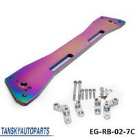 Wholesale Asr Brace - Tansky - ASR LOWER SOLID SUBFRAME REINFORCEMENT BRACE BAR NEO + HARDWARE FOR HONDA CIVIC 92-95 EG EG-RB-02-7C