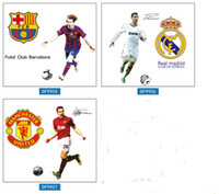 Wholesale Design Removable Wallpaper - Soccer Star Wall Sticker Football Wall Decal for Kids Boys Room Decoration DIY Wall Art Poster Wallpaper 3 styles