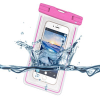 Wholesale underwater case for samsung galaxy s6 online – custom Universal Waterproof Case Cover Underwater Cell Phone Dry Bag for iphone S S Plus for Samsung Galaxy S6 Edge up to quot