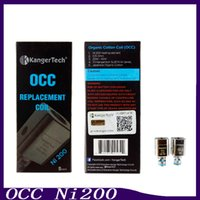 Wholesale Fit Temperature - Kanger OCC NI200 Sub Ohm Coil 0.15 Ohm NI 200 Temperature Sensing Coils fit Kangertech Subtank Series Atomizers 0266032