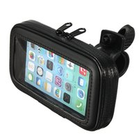 Wholesale bicycle phone holders - Waterproof Sports Motorcycle Bicycle Motor bike Holder Mount Bag Case Cover for Phones