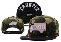 Wholesale Camo Trukfit Hat - Camo Black Trukfit Snapback Caps & Hats Adjustable Truk fit Hat TRUKFIT Snapback Black Cotton Caps TYMY