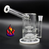 Wholesale Bend Homes - Glass Water Bong water pipes 18 mm Female Joint Staight Neck pipe for Hoohak DIY Smoking At Home