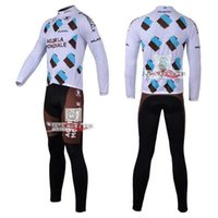 Wholesale Kuota Long - Hot Sale!!! Kuota AG2R long sleeve cycling wear clothes bicycle bike riding jerseys+jacket sets