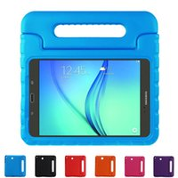Wholesale Cases For Tablet Pcs - EVA Handle Style Children Shockproof Shell Case Cover For Samsung Galaxy tab A 8.0 T350 T351 T355C tablet PC Case
