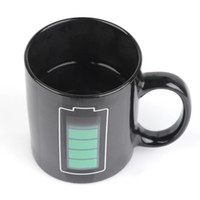 Wholesale Temperature Cup Battery - Magic Battery Coffee Mug Tea Milk Hot Cold Heat Temperature Sensitive Color-Changing Mug Cup