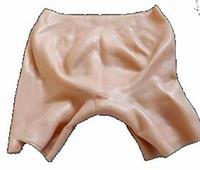 ingrosso seni vagina-Masturbatore maschio vaginale realistico femminile della vagina della forma del seno dei pantaloni del vestito dal seno della vagina Capelli naturali artificiali della vagina + caricatore + vibratore