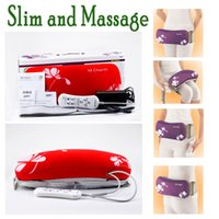 Wholesale Program Fitness - Electric Fitness Massage Beauty Care Slimming Health Waist Losing Weight Belt Thigh Calf shank Vibrating Adopt programs for Tummy, Butt