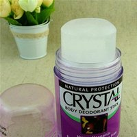 Wholesale Crystal Mineral Wholesalers - Crystal Body Deodorant Stick Crystal Natural Mineral Salt Deodorant Body Alum Crystal Stone Ball Crystal Bar 40g for Sale Fast Shipment