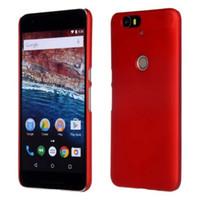 étui huawei nexus 6p achat en gros de-Étui de luxe pour sac à dos ultra mince ultra mince givré et mat pour Huawei Nexus 6P Étui mat