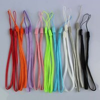 Wholesale Mobile Phone Cord Lanyard - wrist hand cell phone mobile chain straps keychain Charm Cords DIY Hang Rope Lariat Lanyard