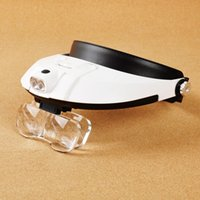 Wholesale New Arrival Quality Best Price Lens X X Adjustable Detachable Led Headband Illuminated Magnifier With Replaceable Lens