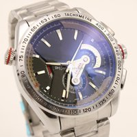 Wholesale Work 16 - All Subdials Work CALIBRE 16 tag date Promotion automatic mechanical Selling fashion brand men watch stainless steel wristwatch men's Watch