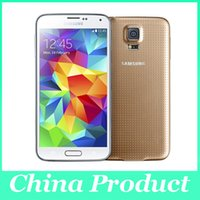 "Wholesale smartphone s5 - 100% Original Samsung Galaxy S5 i9600 LTE WCDMA 1080P 2 GB ram 16 GB rom G900f 16MP kamera Quad Core 5.1 "" refurbished smartphone 002865"