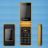 Wholesale Smart Flip Cell Phones - mobile cell phone, no smart, long standby time, dual sim card ,dual standby, dual screen, flip phone