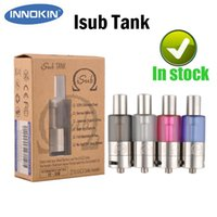 Wholesale Vertical Systems - Authentic Innokin Isub Atomizer ISub Vaporizer Tank Vertical Deep Coil System Huge Cloud VS isub G SMOK TFV4 Mini Arctic Tank Tesla Vortek
