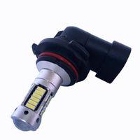 Wholesale H3 Fog Light Bulb Yellow - Automotive LED bulb 881 H1 H3 H11 9005 9006 H7 H8 1156 1157 T20 reversing steering super bright 4014 30 SMD lights 25W 12V High Power
